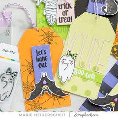 Boo-tiful Halloween Tags