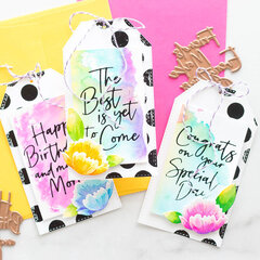 Foiled Rainbow Tags