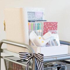 Craft Room Basics- Craft Room Storage
