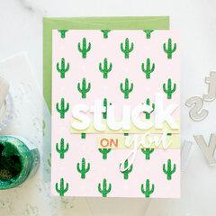 Little Cacti Stencil