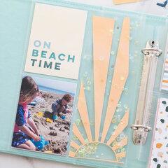 Summer at the Beach Pocket Layout