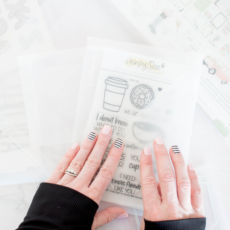 Storage Envelopes for Craft Room Organization