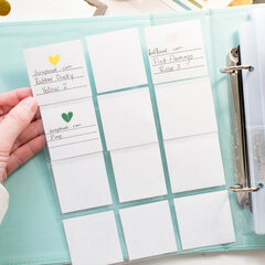 Albums for Craft Storage and Organization