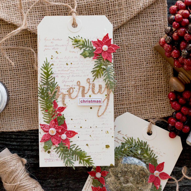 Tim Holtz Christmas Release Gift Tag