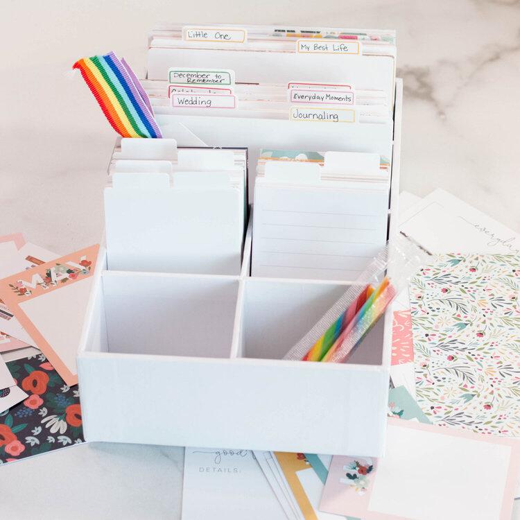 Craft Room Basics Pocket Card Orgazniation