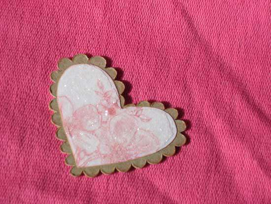 Valentine's Chipboard Heart