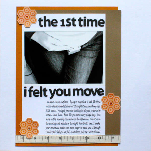 The First Time I felt you Move