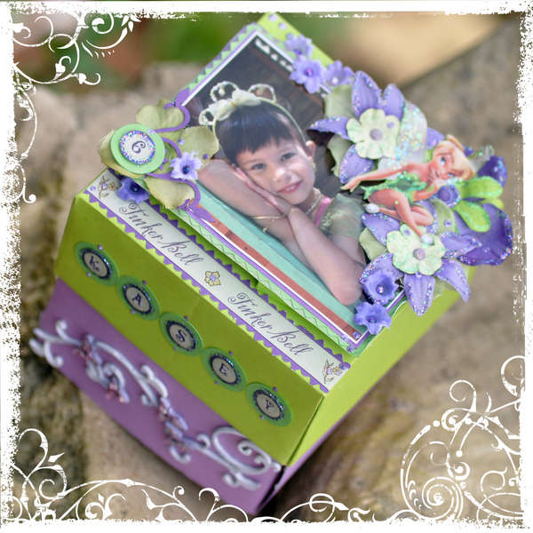 Tinkerbell Birthday Present Box