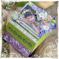 Tinkerbell Birthday Present Box