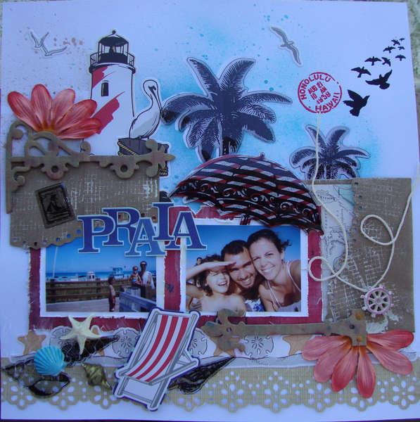 Praia (Beach) - first page
