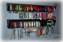 Simply Renee Clip It Up Ribbon Organizer