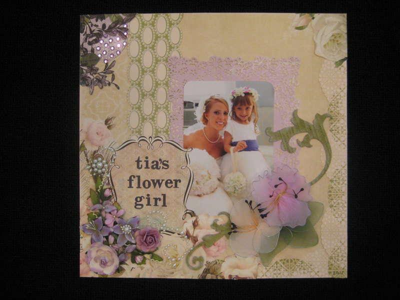 Tia's Flower Girl