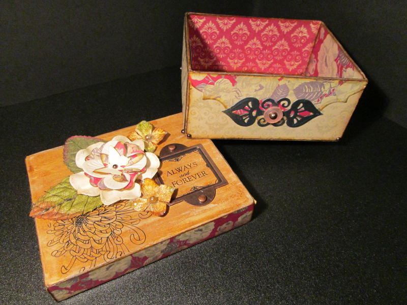 Altered Cardbord Box
