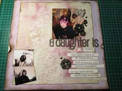 A daughter is...