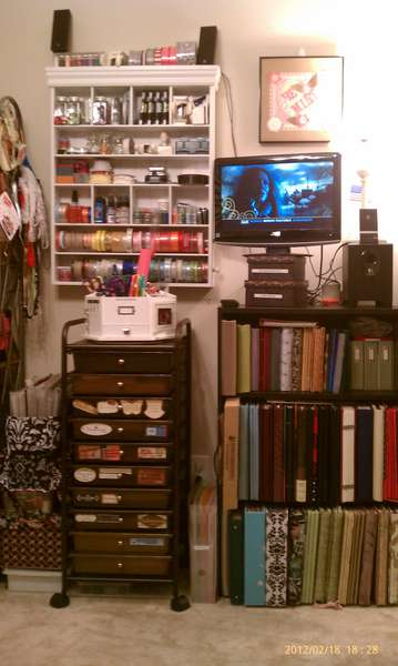 My Corner of Heaven - Right Side with TV/DVD