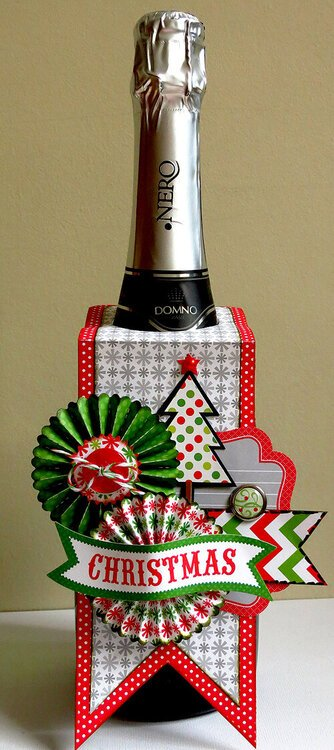 Holiday Bottle Tag