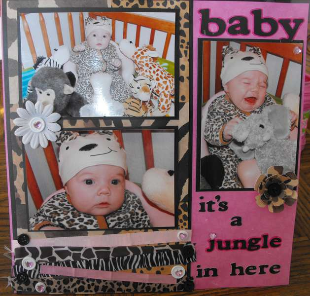 Baby... its a jungle in here!