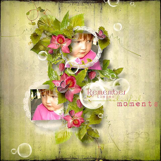 Raspberry Dream by Lilas Designs