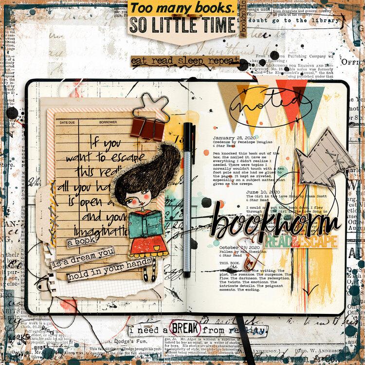January 12: Art Journaling Diary