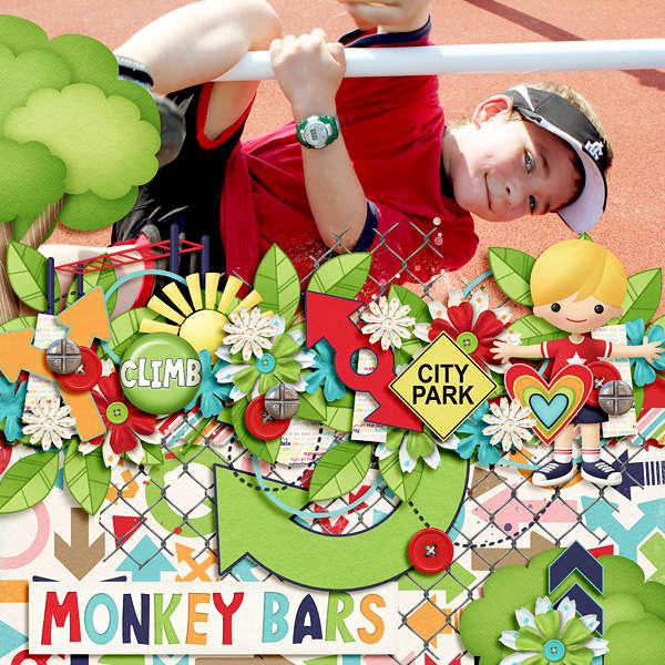 Monkey Bar Play