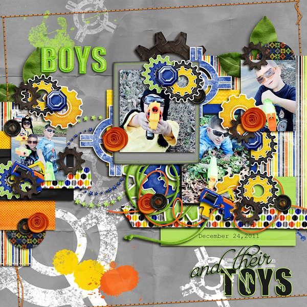 Boys & Their Toys