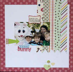 Hello Bunny by Jennie McGarvey