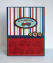 You are Loads of Fun by Melanie Jarocki featuring the Noah Collection from Nikki Sivils