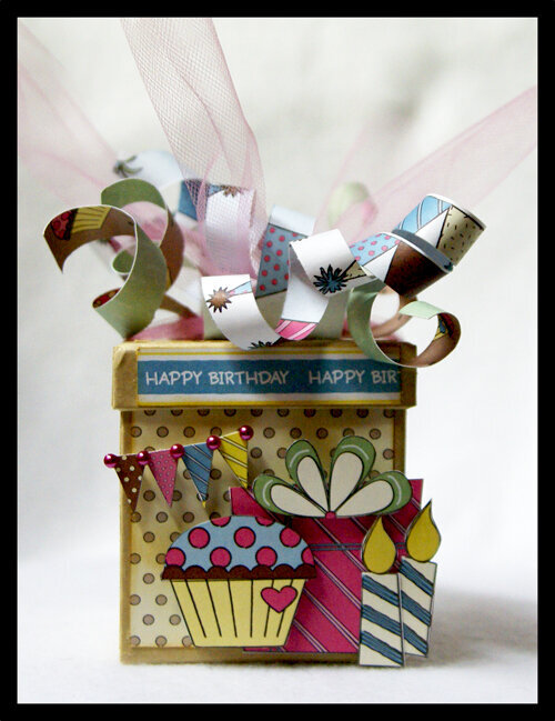 Happy Birthday Box by Stacy Rodriguez