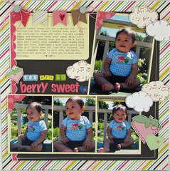 Berry Sweet by Sarah Eclavea