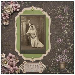 VINTAGE WEDDING LAYOUT