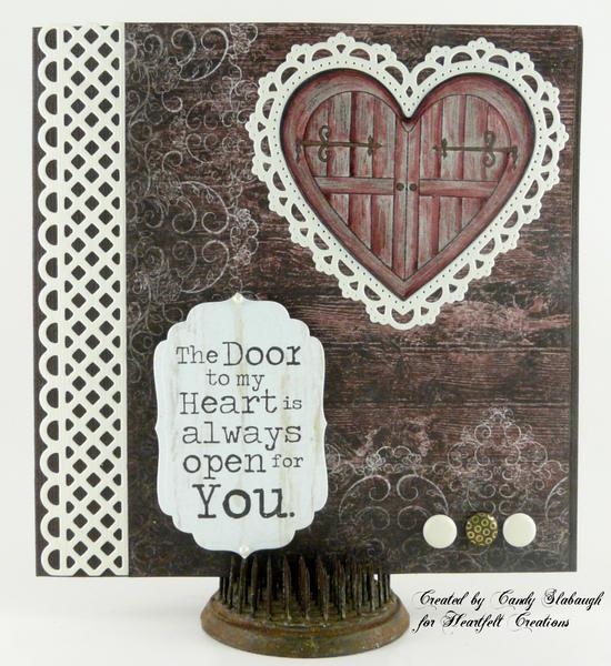 RED DOOR TO MY HEART CARD