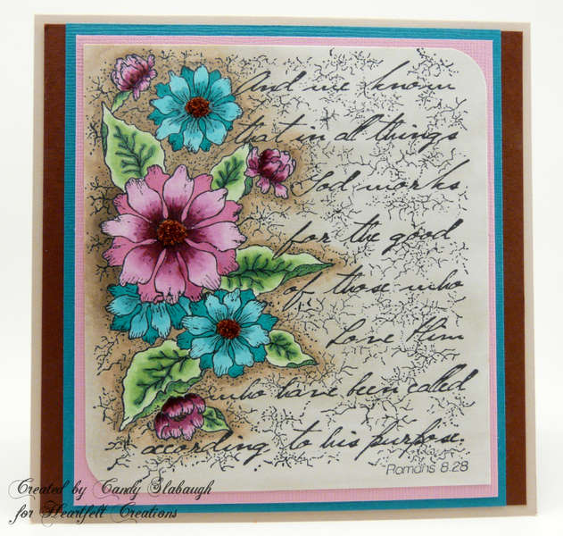 TATTERED COLLAGE CARD