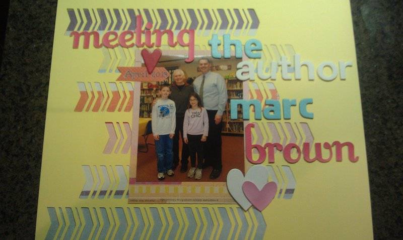 meeting author marc brown