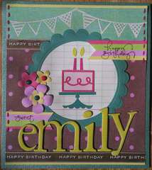 happy 2nd birthday Emily!