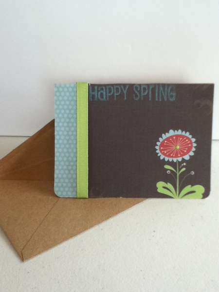 Emily's Spring Card for NSD 2012 Challenge #1