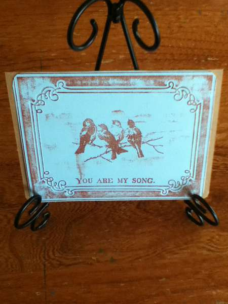 You Are My Song Card