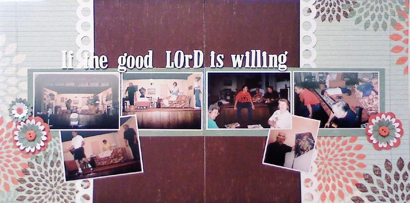If the Good Lord is willing...