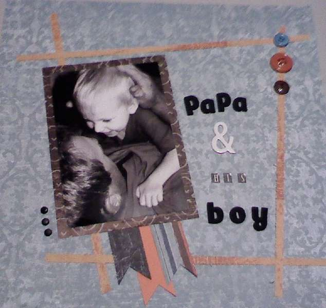 Papa and his Boy