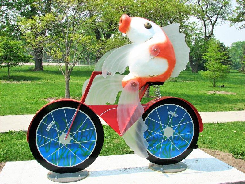 Fish on a Bike