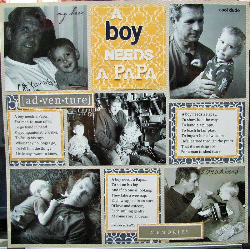 A Boy Needs a Papa