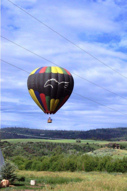 Broncos Hot Air Balloon