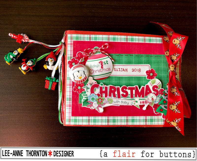 Baby's First Christmas Mini Album