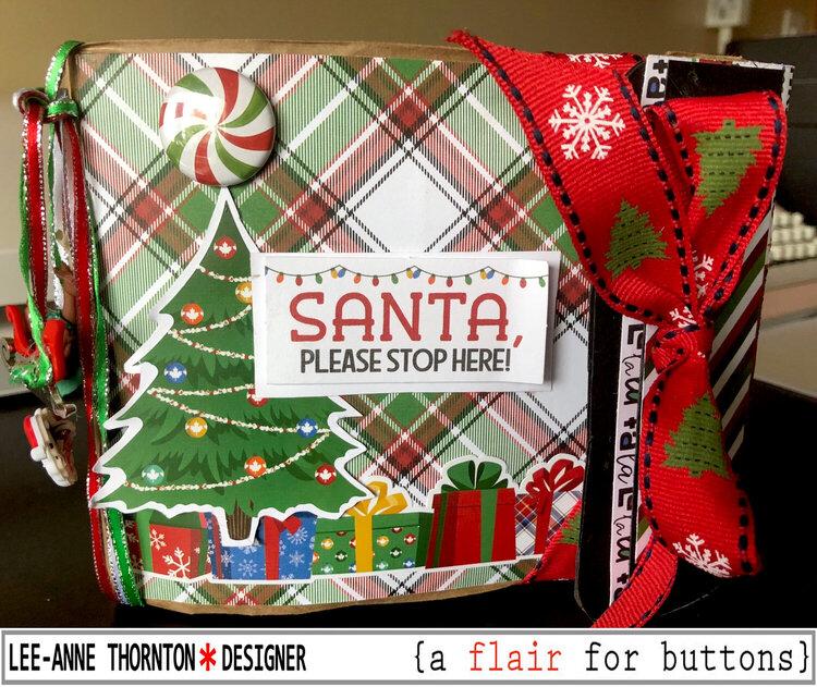 Santa Please Stop Here Mini Album