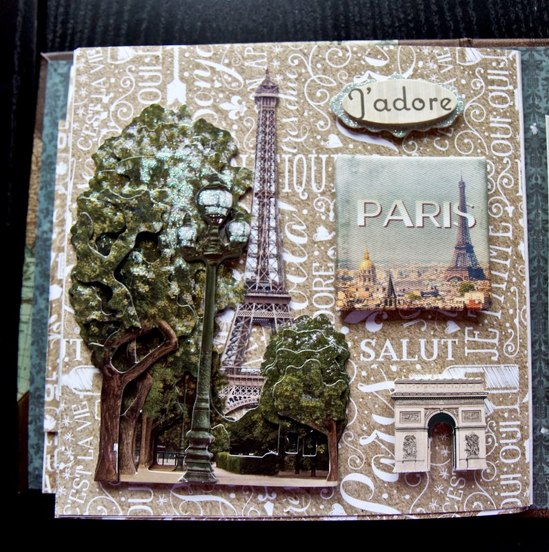 France And Italy Travel Album (Flipbook for Paper House Productions)