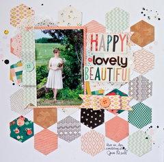 Happy Lovely Beautiful