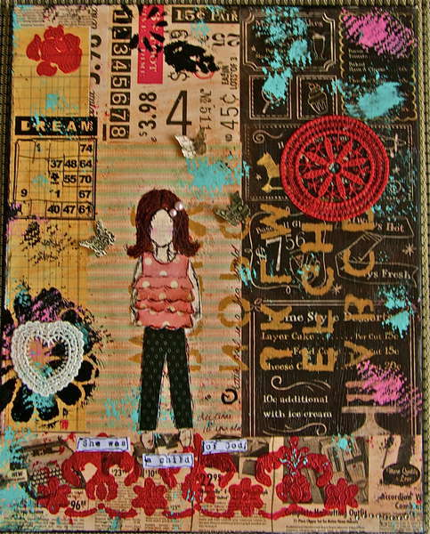 She Art Girl #3 - When I Was 10 Years Old