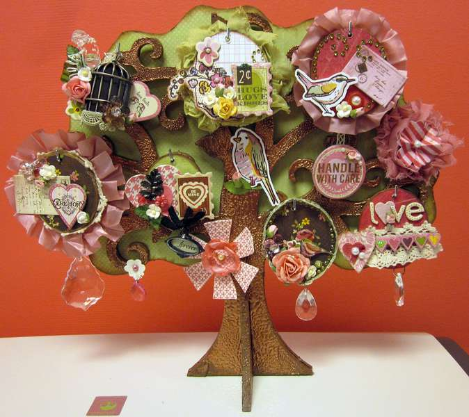 Kaiser Craft & Kissing Booth Valentine's Tree