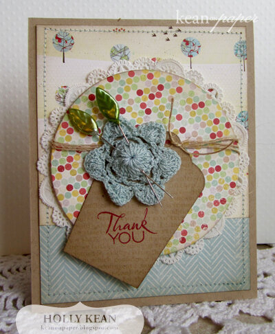 Doily Flower Thank You