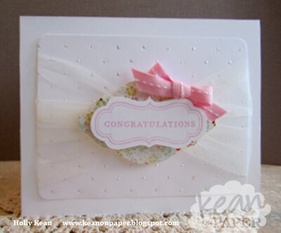 Sweet Congratulations