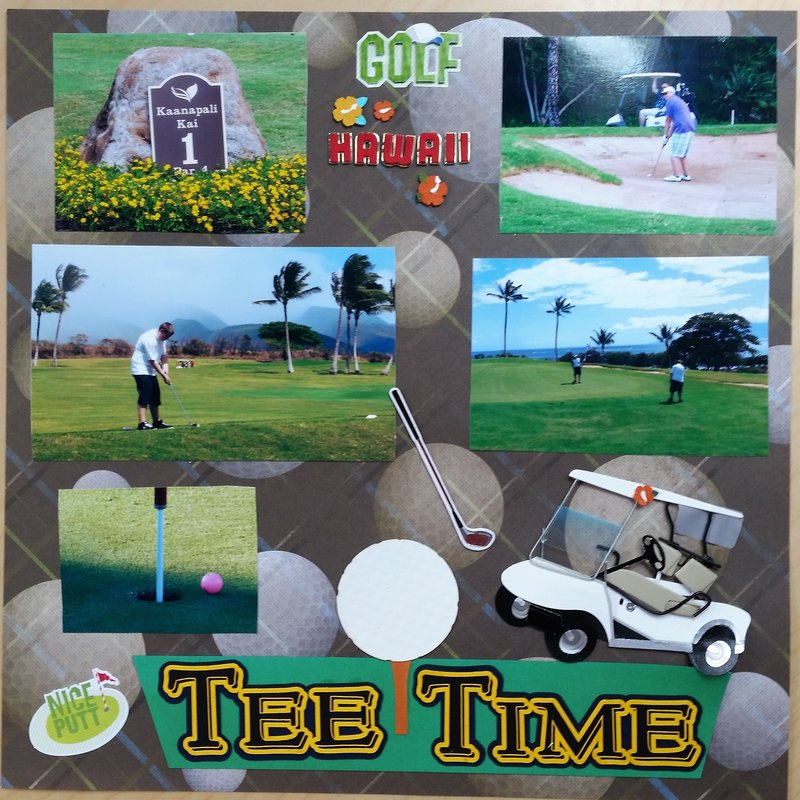 Golfing in Paradise